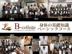 身体の基礎知識ベーシックコース(6日間)大阪開催